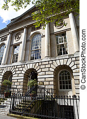 The former Middlesex Sessions House in Clerkenwell Green, London.