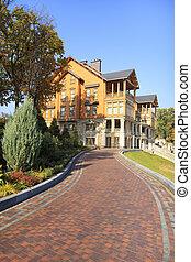 The former residence of the fourth president of Ukraine Viktor Yanukovych