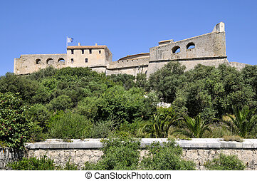 The fort carr? from Antibes France - The fort carr? from ...