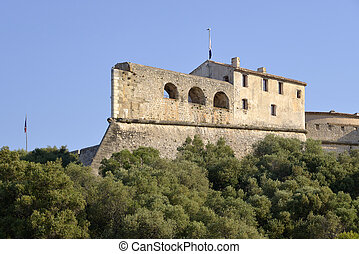 The fort Carr from Antibes France - The fort Carre built by ...