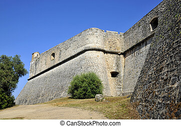 The fort Carre from Antibes France - The fort Carre from ...