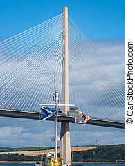 The Forth Bridges in Scotland