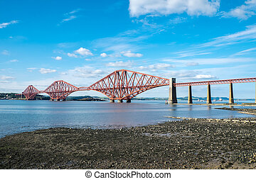 The Forth Railway Bridge, Scotland - The famous Forth...