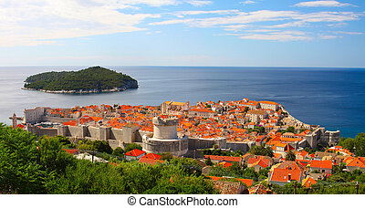 The fortress Dubrovnik