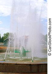 fountain in Ufa city