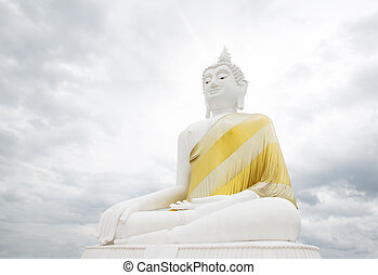 The front of the Buddha,