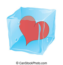 The frozen cube in which the broken