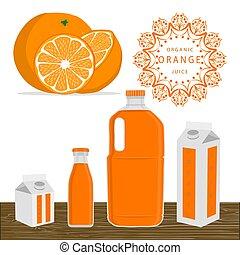 The fruit orange