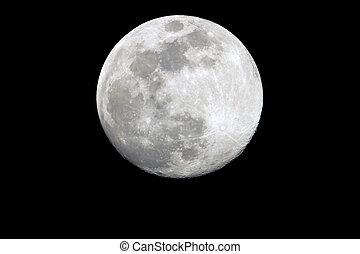 The Full Moon Shinning - A very romantic Full Moon shinning...