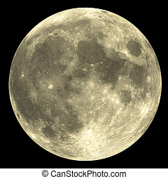 The Full Moon with great detail - very rare