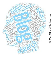 The Future On SEO For Bloggers text background wordcloud ...
