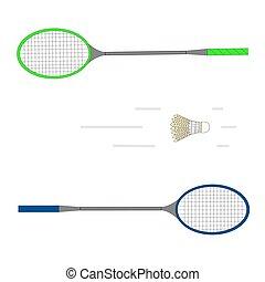 the game badminton