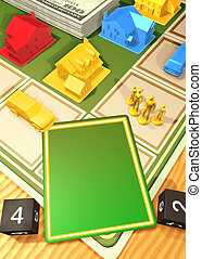 The Game - Generic Board Game Concept(fill in your own...