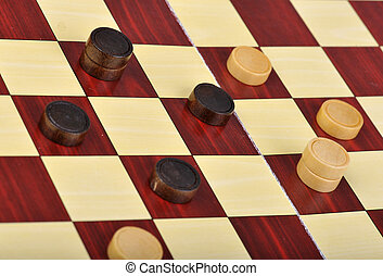 The game of checkers