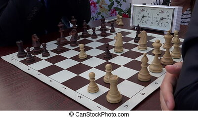 The game of chess.