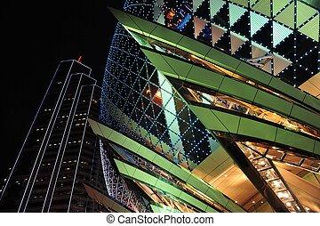 The Gaming Industry of Macao - MACAU - FEB 20:Casino Lights...