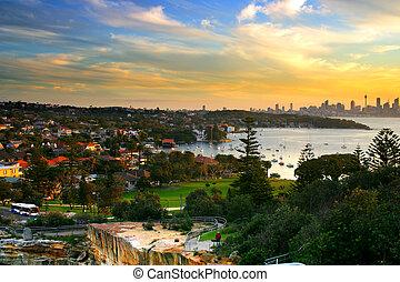 The Gaps, Watson Bay, Sydney - The Gap, a spectacular ocean...