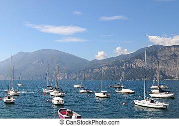 The Garda Lake in Italy