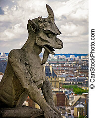 The Gargoyles of Notre Dame - Paris, France
