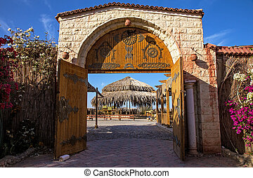 The gate in Egypt