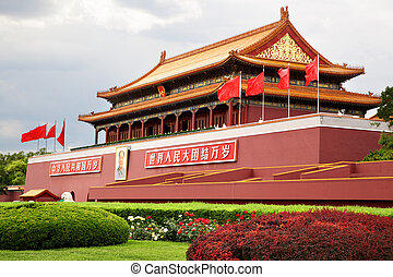 The Gate of Heavenly Peace - Tiananmen, The Gate of Heavenly...