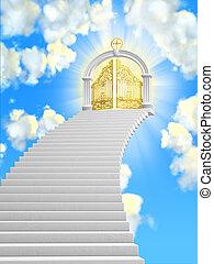 The gates of paradise