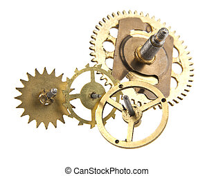 gears from the clock