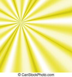 the generated yellow sun rays dissecting space form an abstract background