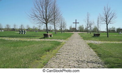 The German military memorial cemetery in Russia - German...