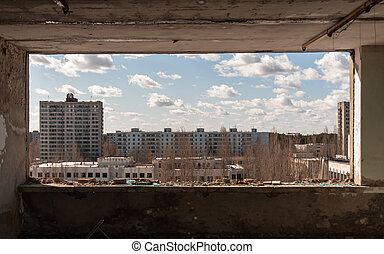 The ghost city of pripyat, Chernobyl