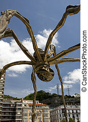 The giant spider, Bilbao, Spain - The giant spider 'Mama'. ...