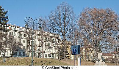 Giardini Cavour - The Giardini Cavour public park in Turin...