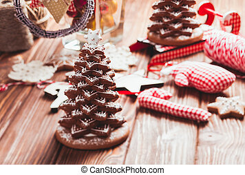 The Gingerbread cookies