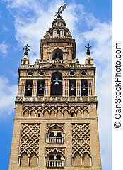 The Giralda, in Seville, Spain - View of the Giralda, the ...