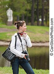the girl in spring park