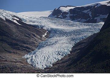 The Glacier Svartisen