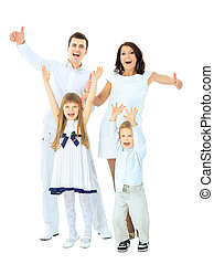 the gladness of a happy family