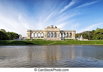 The Gloriette pavilion in Vienna
