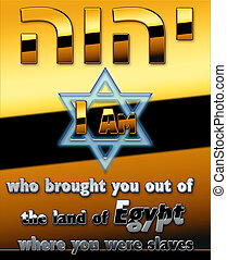 "YHWH - The God of the Jews ""YHWH"" and Egypt"