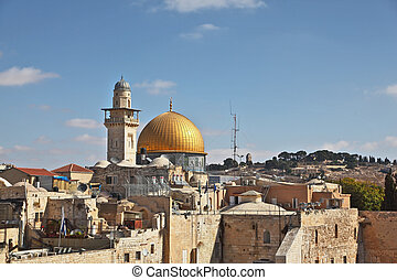 The gold Dome of the Rock