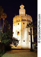 Torre del Oro - The Gold Tower (Torre del Oro), Seville