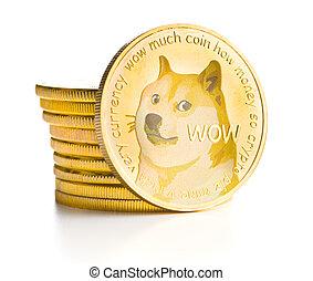 The golden dogecoin.