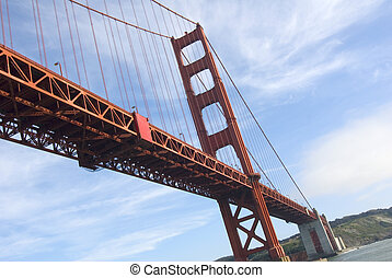 Golden Gate Bridge - The Golden Gate Bridge of San Francisco