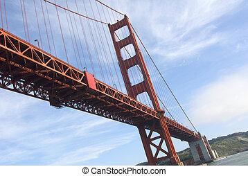 Golden Gate Bridge - The Golden Gate Bridge of San Francisco