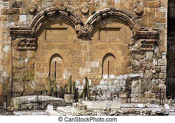 The Golden Gate in Jerusalem Israel - The golden gate in...