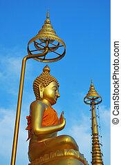 The Golden Image of Buddha