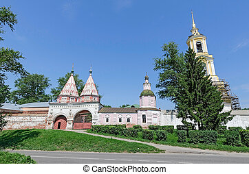 The Golden ring of Russia, Suzdal city.