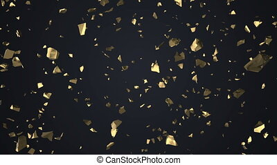 The golden shatters illustration