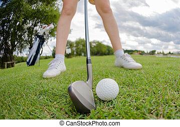 the golf ball