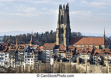 Gothic Cathedral - The Gothic Cathedral of St. Nicolas in...